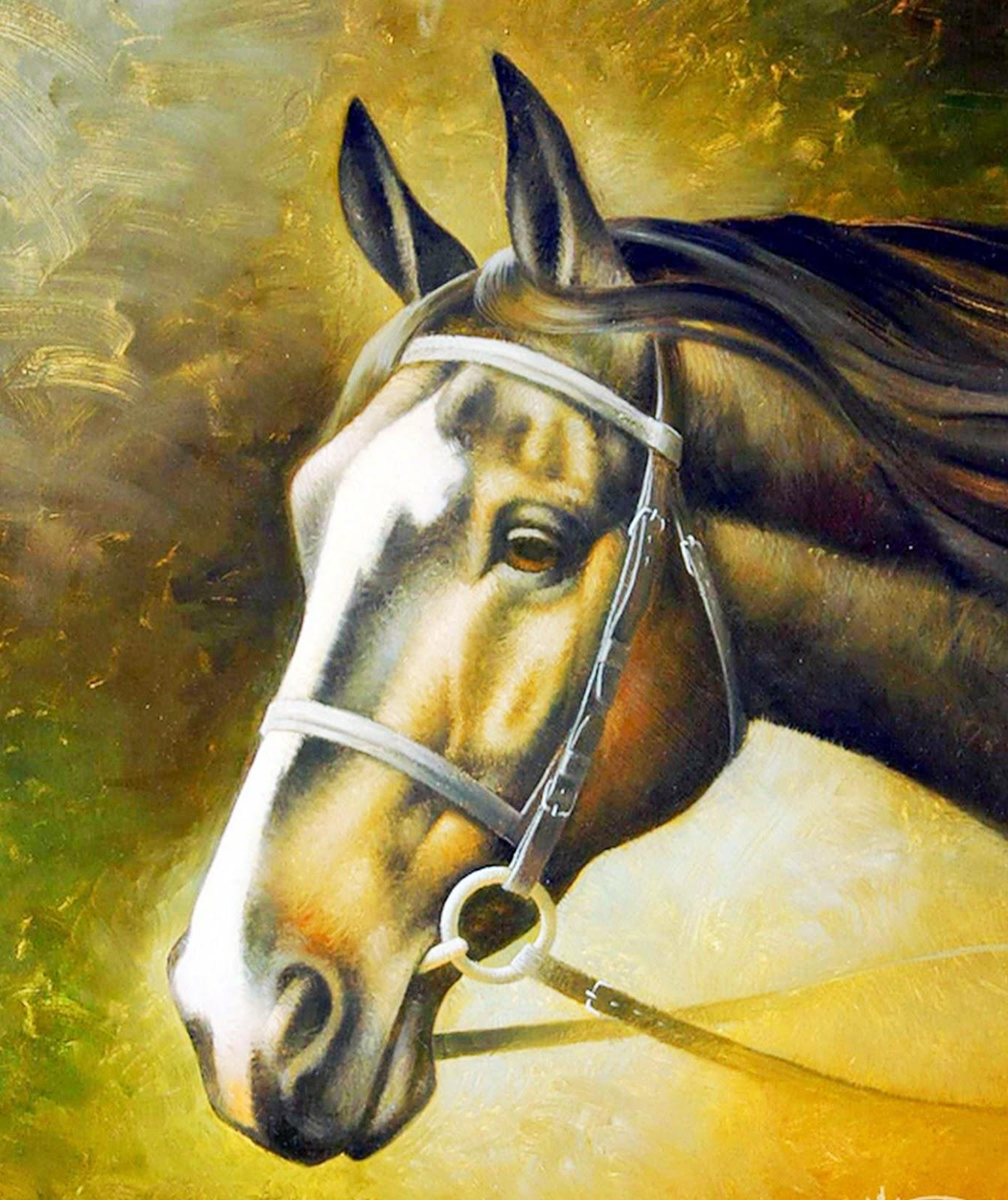 retratos-caballos-al-oleo