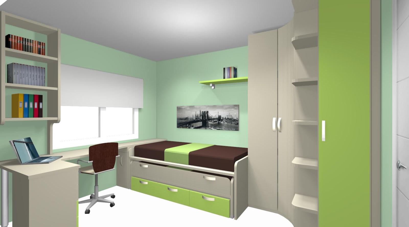 Ideas de dormitorios juveniles for Compactos juveniles