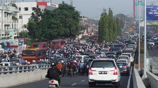 Hari Ini Fly Over Simpang Jakabaring Beroperasi Penuh