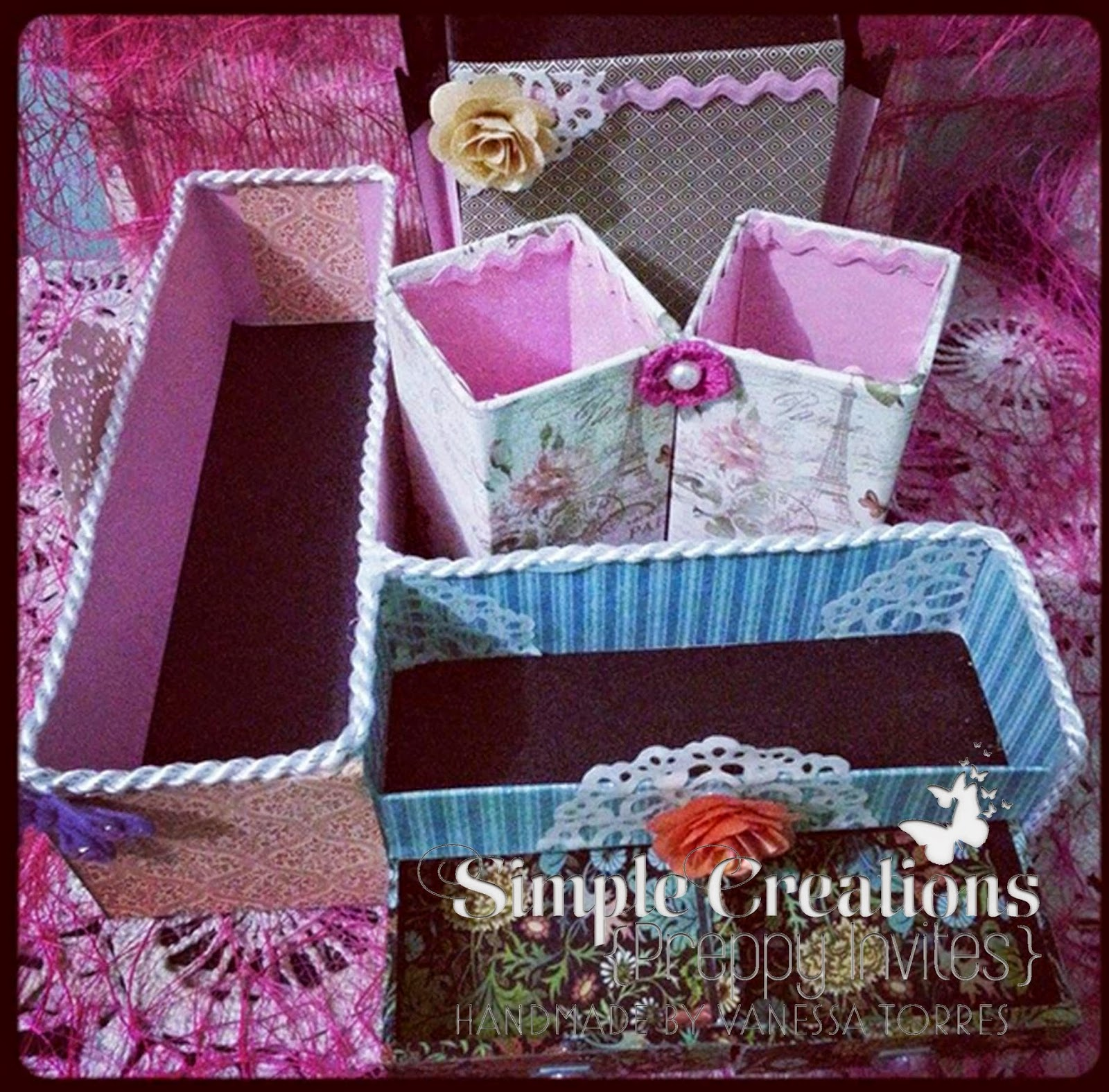 sweet and girly desk caddy