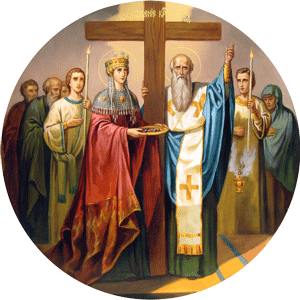 Αποτέλεσμα εικόνας για υψωσις του τιμιου σταυρου