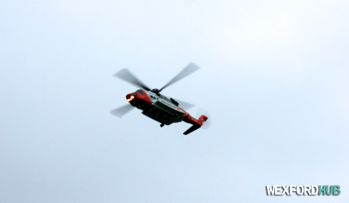 Irish Coast Guard Helicopter