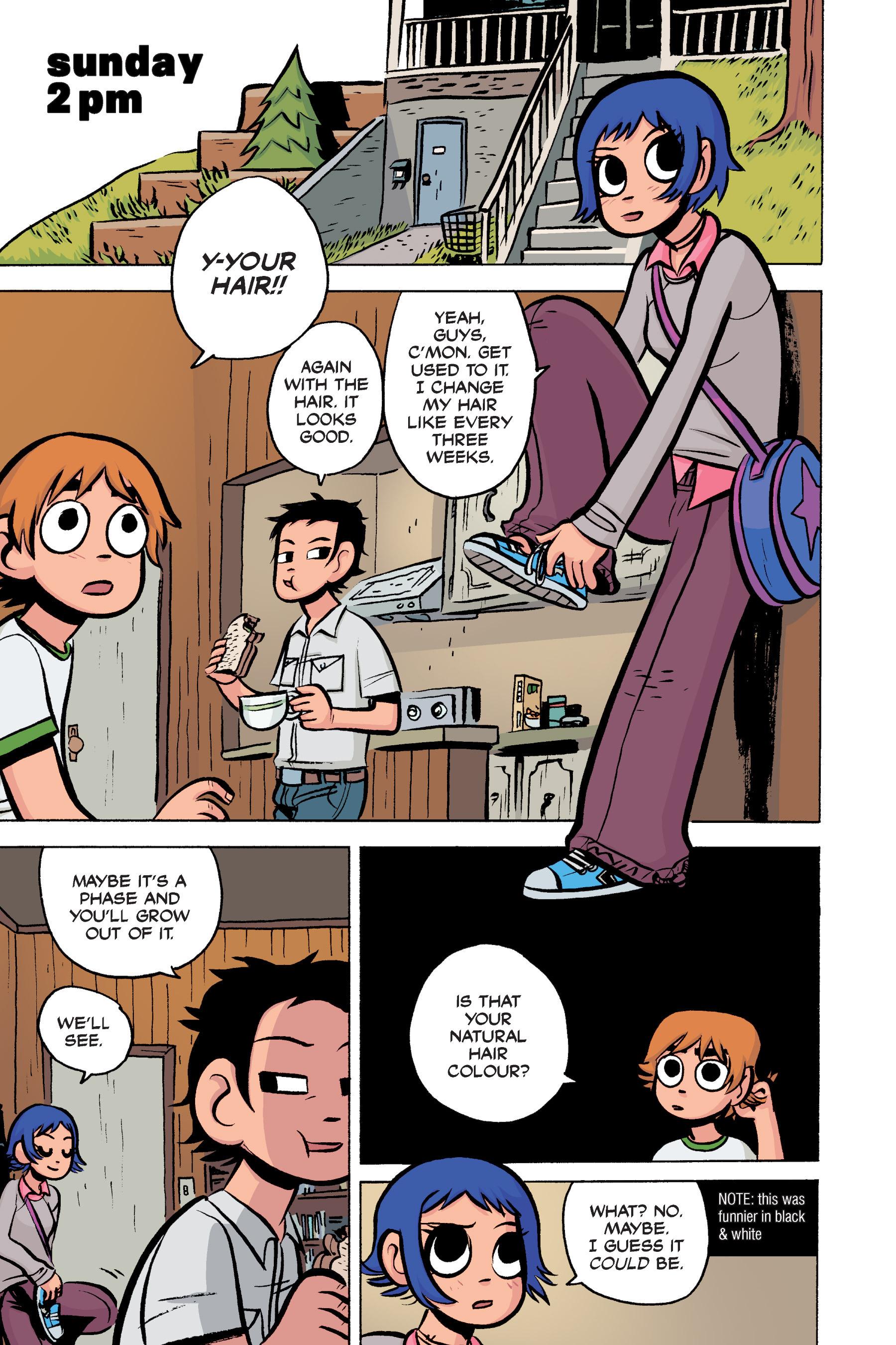 Read online Scott Pilgrim comic -  Issue #3 - 91