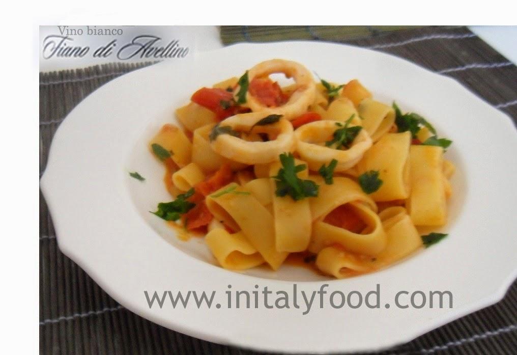 calamarata ricetta napoletana