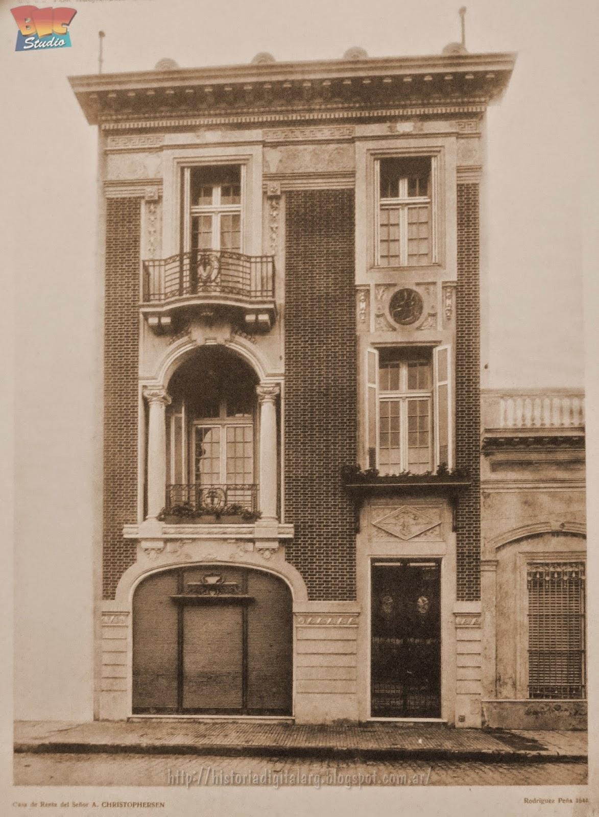 historia digital enciclopedia fotogr fica calle On hoteles en calle rodriguez pena buenos aires
