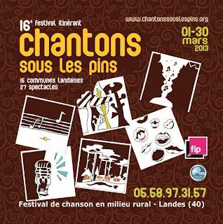 festival Chantons sous les pins 2013 Dax Landes