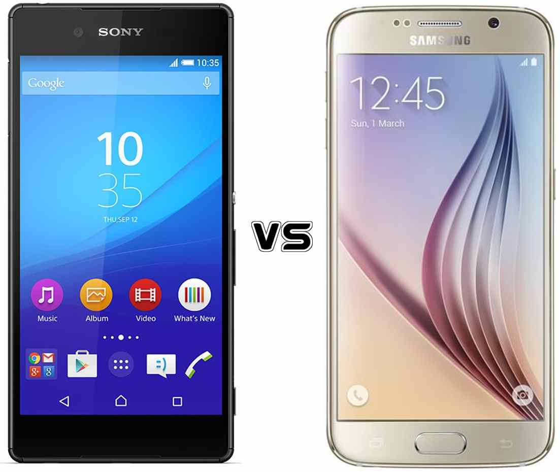 Phone Latest Android Phones Samsung sony xperia z3 vs samsung galaxy s6 comparison of the flagship android phones
