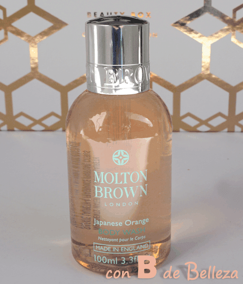 Body wash Japanese orange Molton brown
