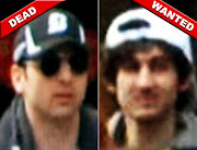 Boston Bombing Suspects: One Dead, One On The Run