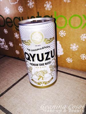 Qyuzu tónica Degustabox Noviembre 2015