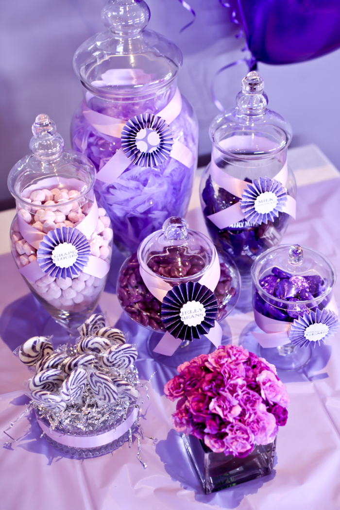 Little big company the purple themed party by