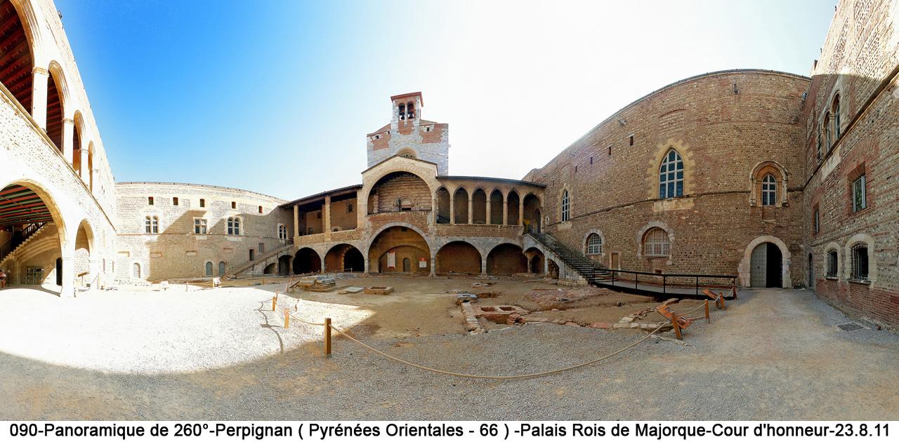 Mon espace photographique 1a2 p1 15 panoramiques france - Palais des rois de majorque perpignan ...