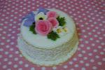 Sugarpaste Lace Cake