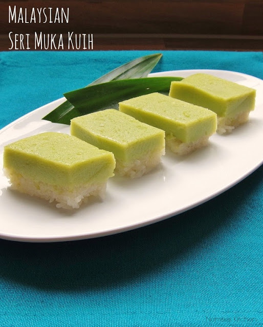 Malaysian Seri Muka Kuih Recipe from Nomsies Kitchen
