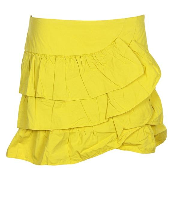 Vezi detalii fusta Zara Feel Yellow