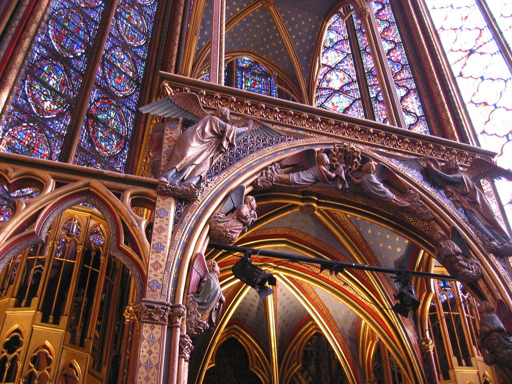 sainte chapelle paris frankrig