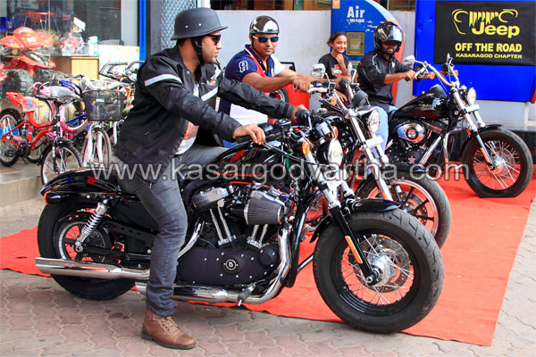 Kasaragod, Bike, Rally, Kerala, Jeep Off The Road Kasaragod Chapter, Harley Davidson