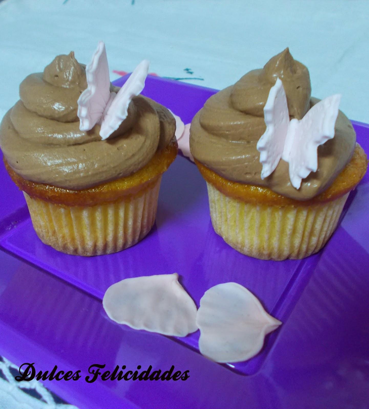 Cupcakes con trufa
