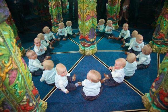 labirynt lustrzany - Adrian Fisher, Świat Labiryntów