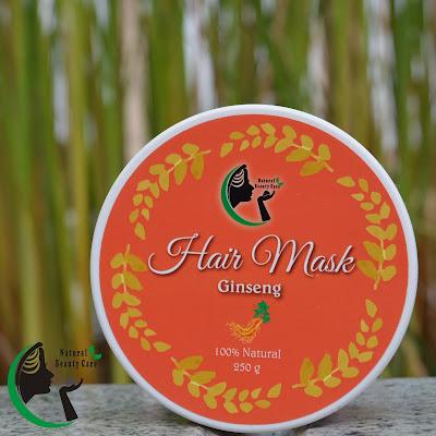 Masker Rambut Rontok Rapuh