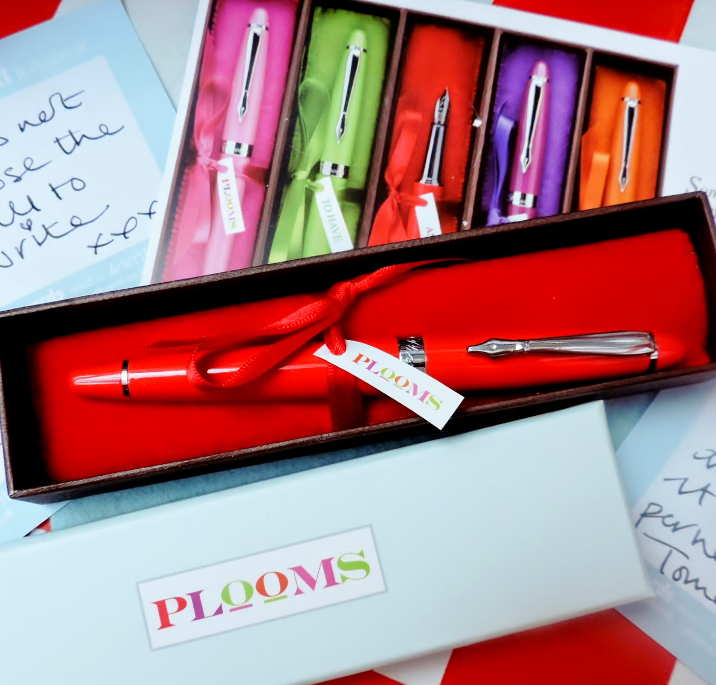 red plooms pen
