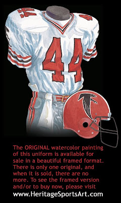 Atlanta Falcons 1986 uniform