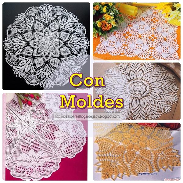Ideas para el hogar: 5 Hermosos modelos de carpetas en ganchillo