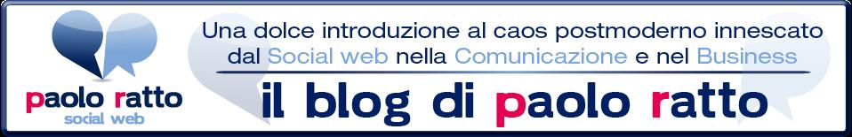 Il blog di Paolo Ratto