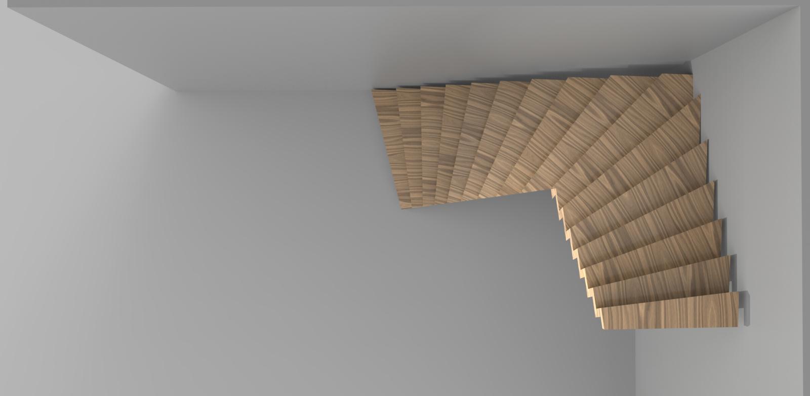 Ontwerp trap woonhuis rotterdam meubelmakerij breda - Ontwerp trap trap ...