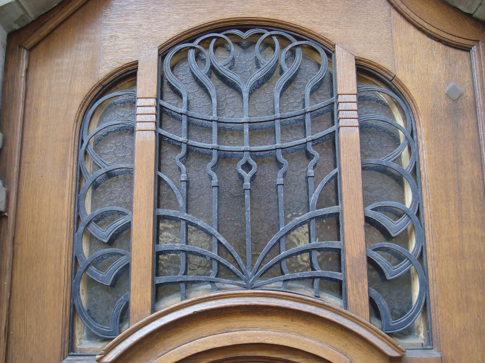 Paseos art nouveau porte 51 46 avenue des vosges - 10 avenue de la porte de menilmontant ...