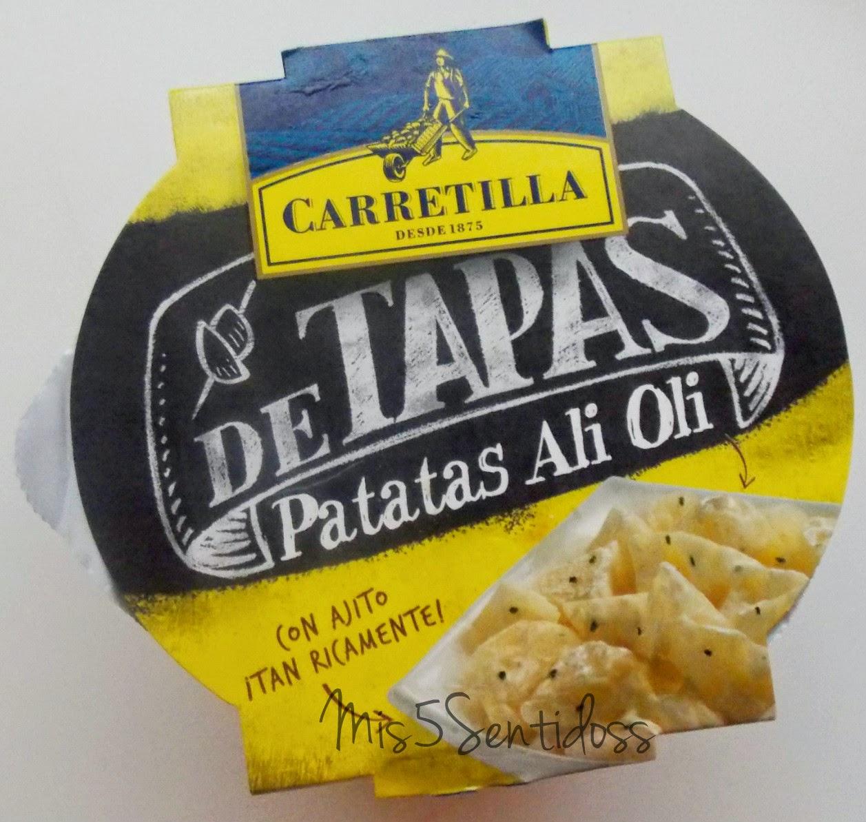 Carretilla patatas ali oli