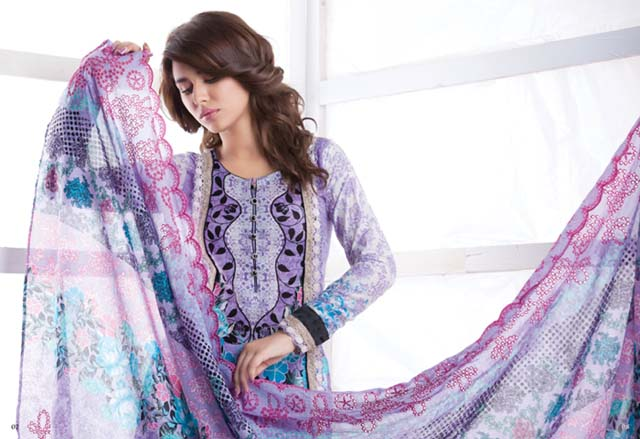 Latest Firdous Eid collection 2012 for women