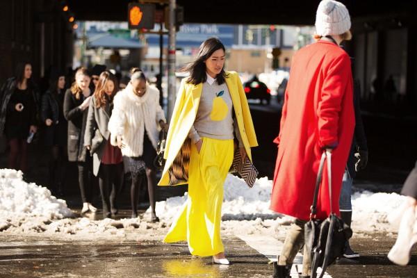 neon sarı ceket