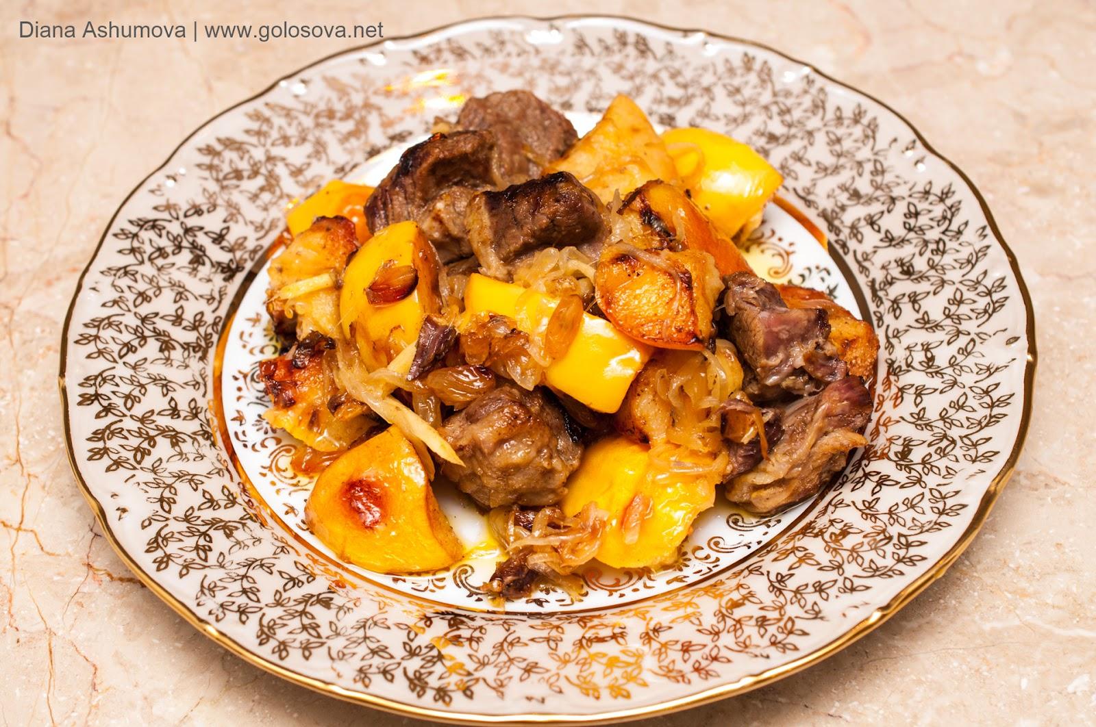Рецепт блюд с айвой