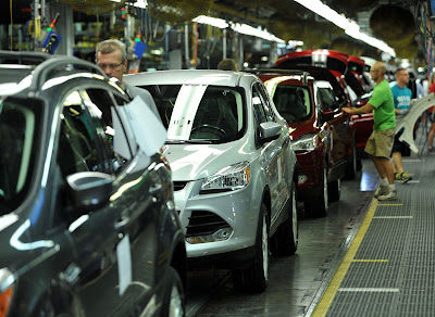 Ford Motor Company Works Overtime To Meet Demand