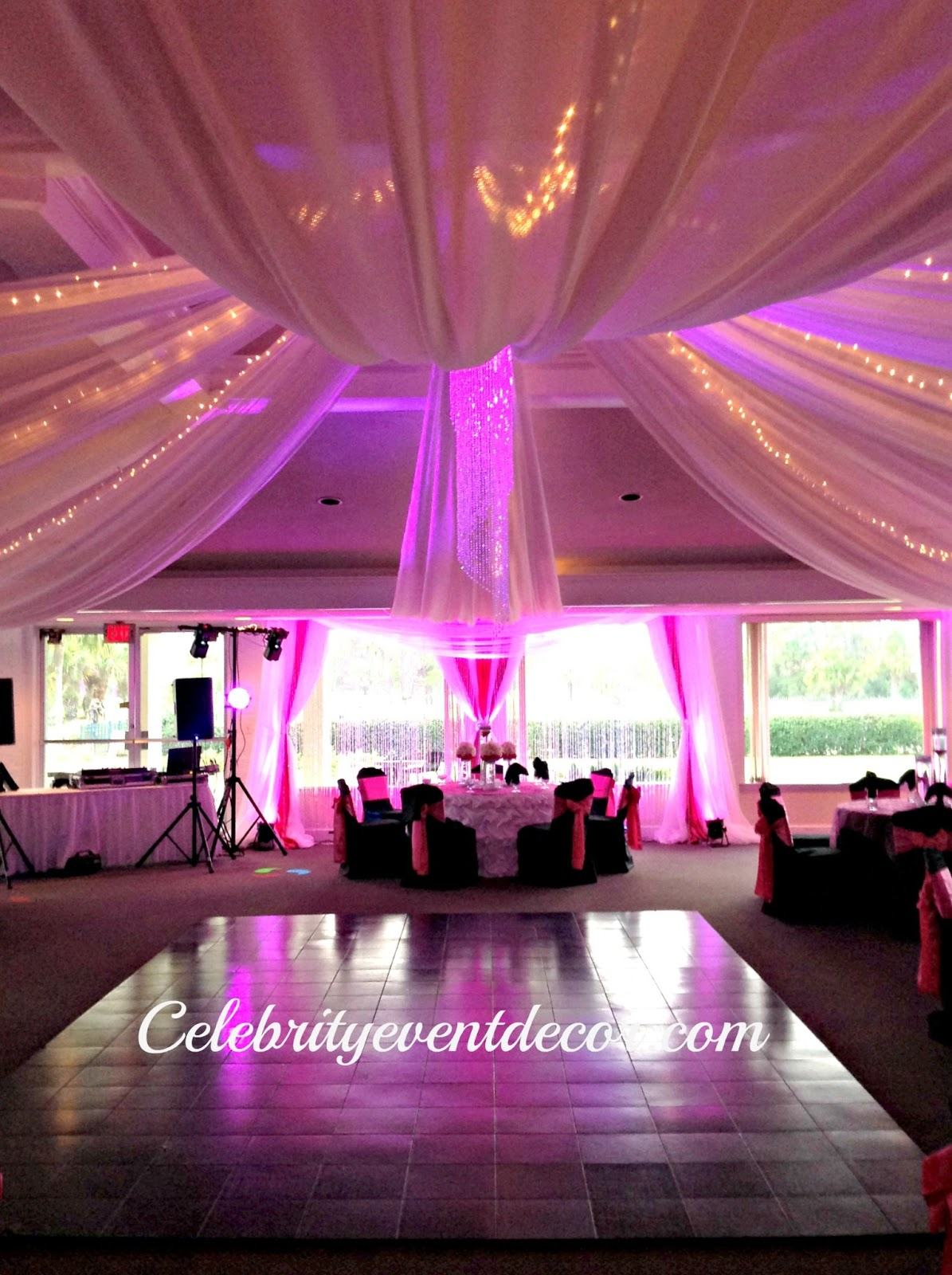 Celebrity event decor banquet hall llc march 2013 for Home sweet home party decorations