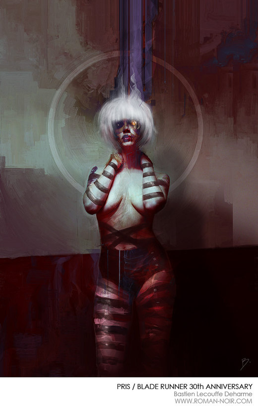 PRIS / Blade Runner's 30th anniversary por Illustrations