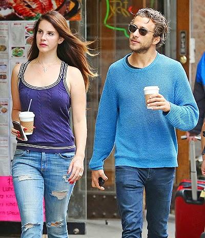 Lana Del Rey and Francesco Carrozzini in New York