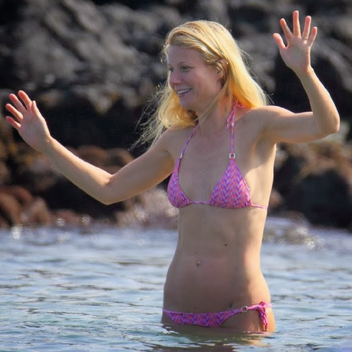 Gwyneth Paltrow Shows Off Pink Bikini And Tattoo For New Year