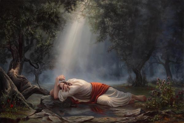 In The Garden Of Gethsemane. U201c