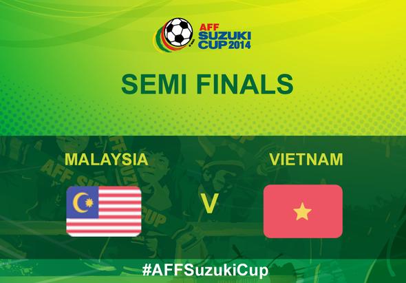 Malaysia Vs Vietnam 7 Disember 2014