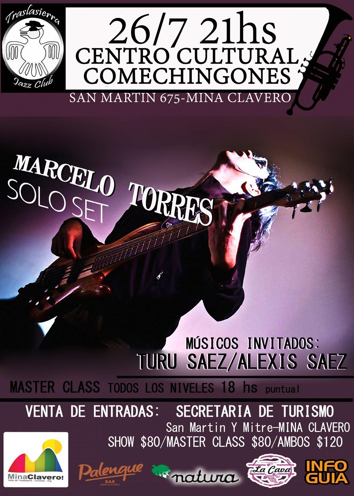 MARCELO TORRES SOLO SET EN MINA CLAVERO