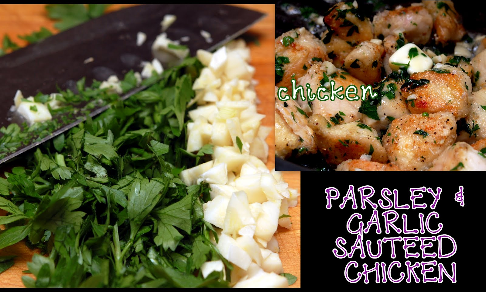 PARSLEY & GARLIC CHICKEN - Hugs and Cookies XOXO