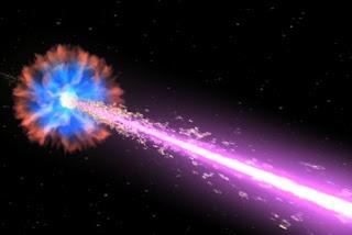 Explosión cosmica