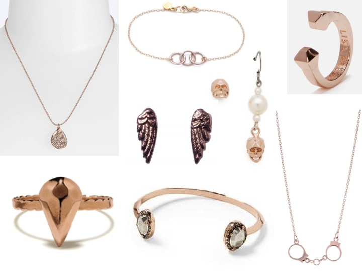 Under $100 Rose Gold Jewelry Cheryl Shops