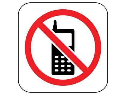divieto utilizzo cellulari