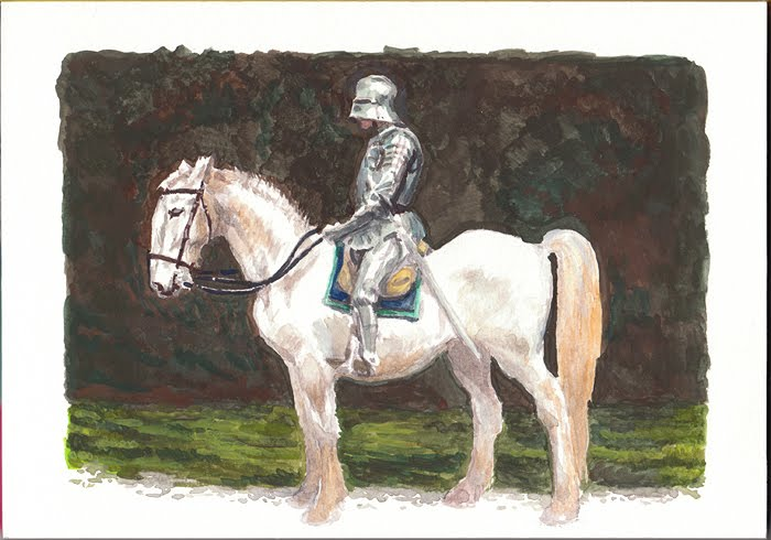 William Fiesterman One Painting or Drawing Per Day: Knight ...