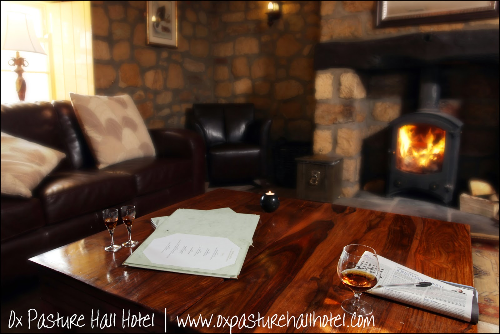 Allow your guests to relax in the cozy lodges at Ox Pasture Hall Hotel | Anyonita-nibbles.co.uk