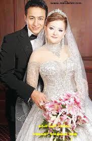 صورة زفاف الفنان حمادة هلال وزوجته