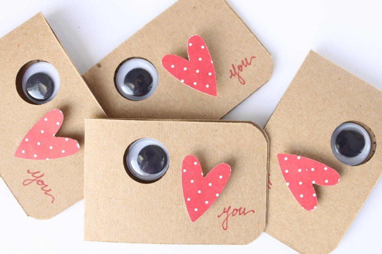 Miss Lovie Handmade Valentines For Kids Eye Love You